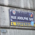 Rue Adolphe Sax♪